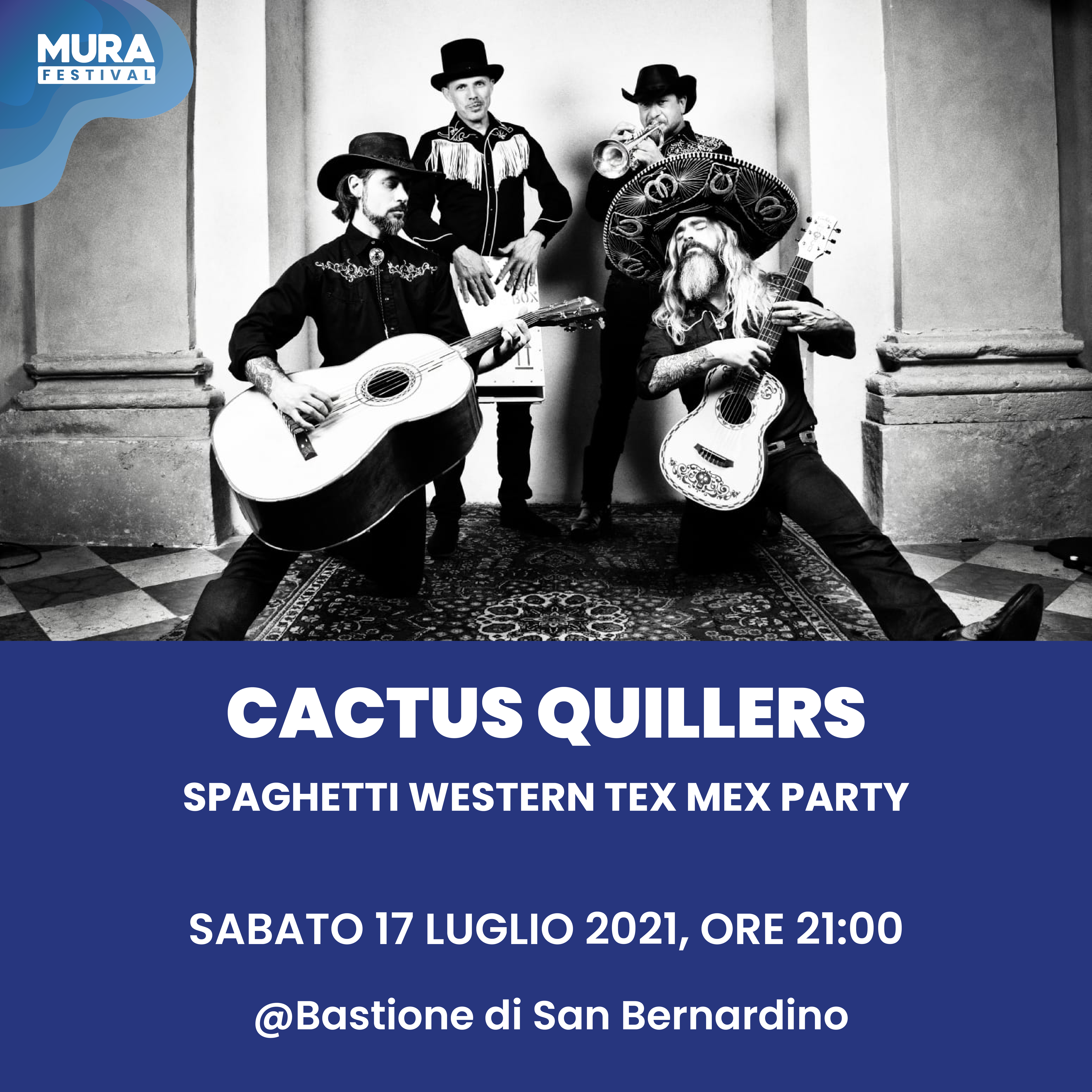Cactus quillers - Spaghetti western tex mex party