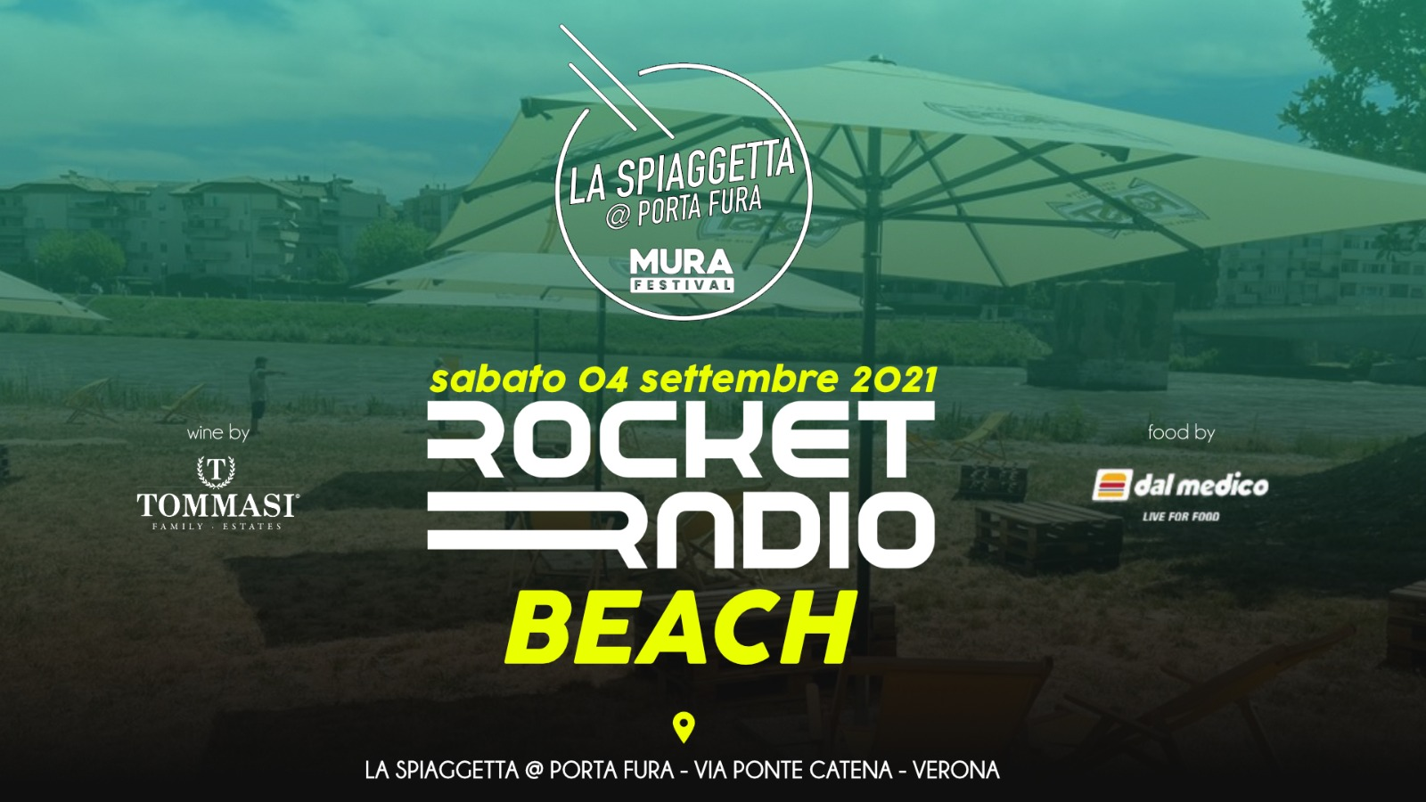 Rocket Radio Beach 4 settembre 2021