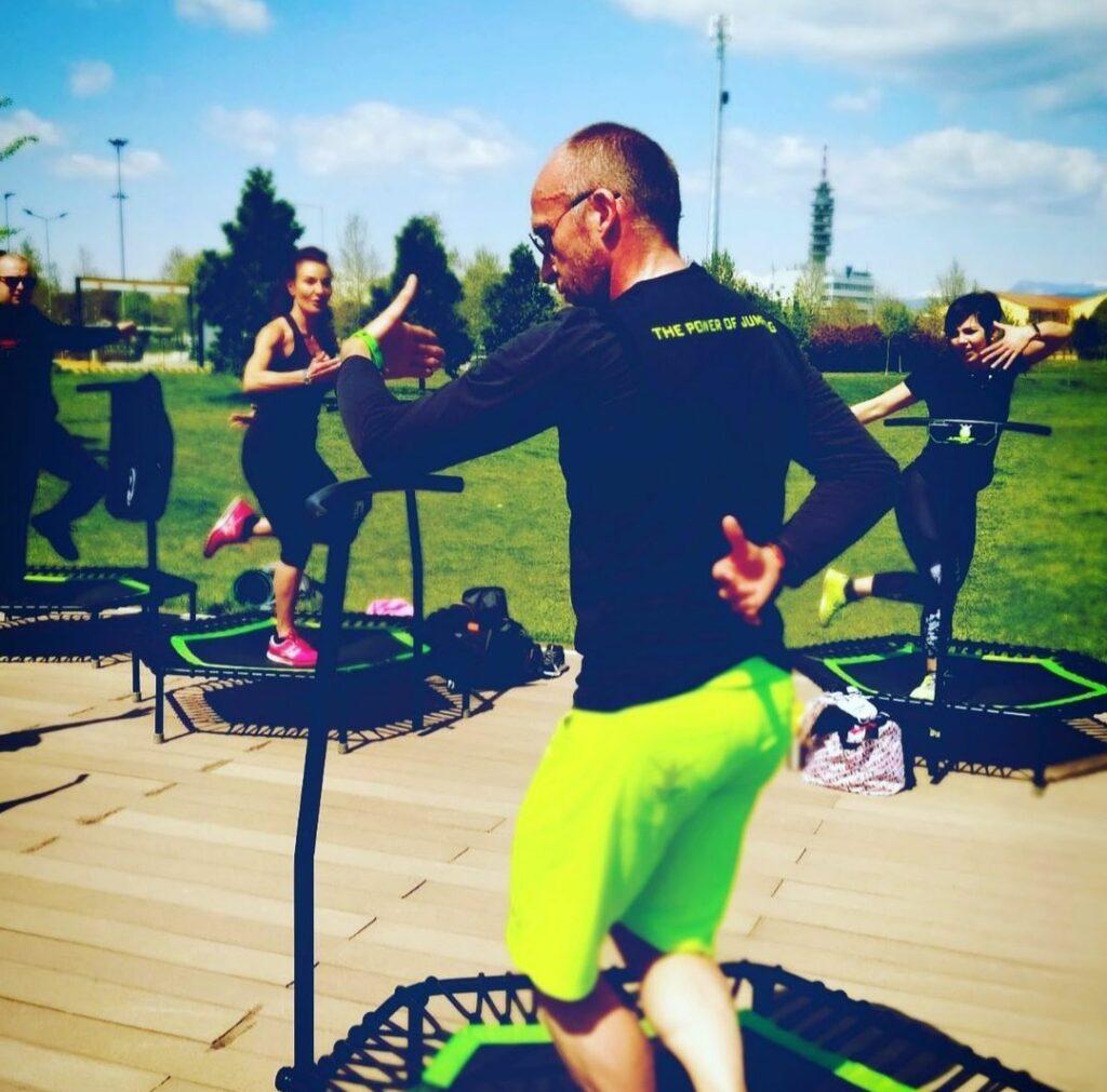 Jumping Fitness Al Parco con Pierpaolo Savio